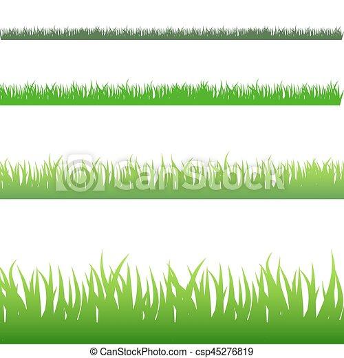 Green Blades of Grass - csp45276819
