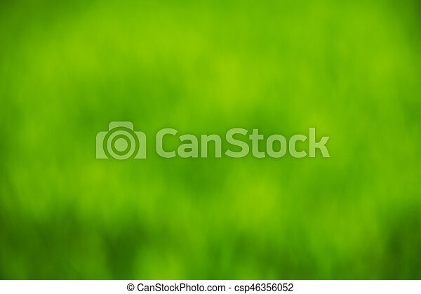 green bokeh abstract light background - csp46356052