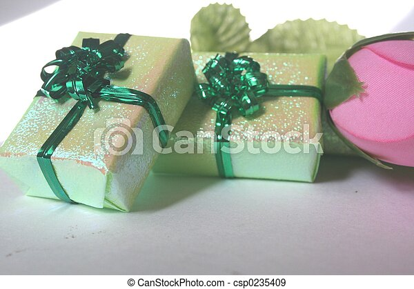 green Boxes II - csp0235409