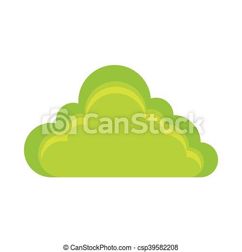 green bush grass - csp39582208