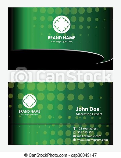 Green business card template eps vector search clip art green business card template csp30043147 accmission Gallery