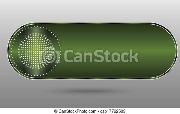green button - csp17762503
