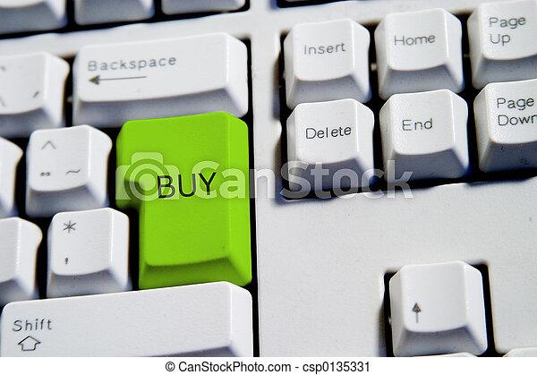 Green Buy Key - csp0135331