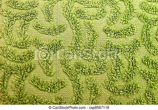 Green carpet texture or background Green carpet with pictures