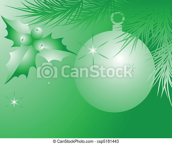 green celebratory background - csp5181443