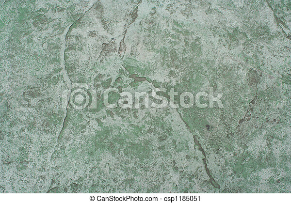 Green cement wall abstract background - csp1185051