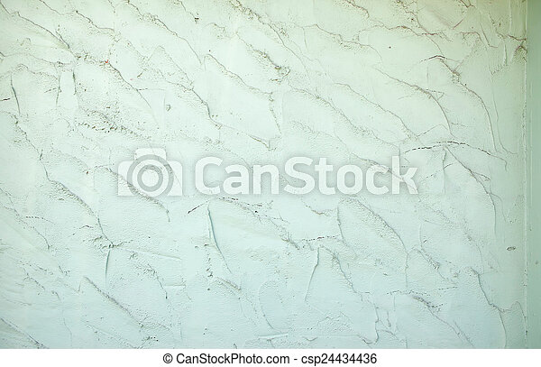 green cement wall texture background - csp24434436
