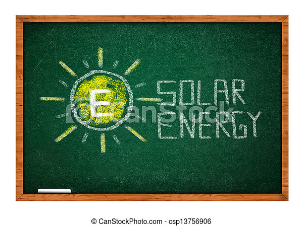 Green chalkboard - csp13756906