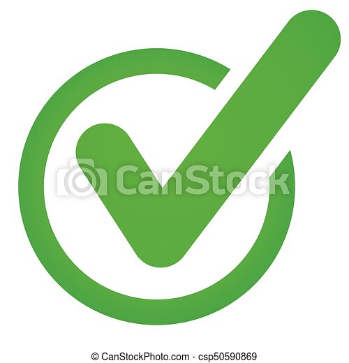 green check marck icon on white background illustration of clip rh canstockphoto com clip art checkered flag clip art checkered flag