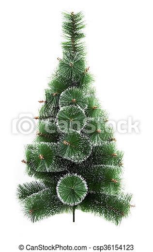 Green Christmas tree - csp36154123