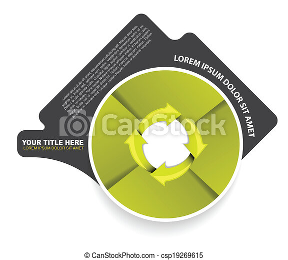 Green circular diagram with arrows and four steps green abstract green circular diagram with arrows and four steps csp19269615 ccuart Choice Image