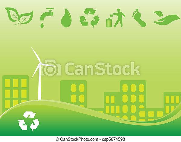 Green city - csp5674598