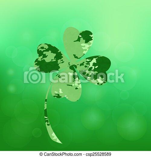 green clover - csp25528589