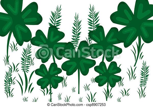 green clover - csp8907253