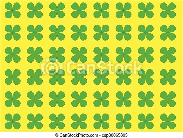 Green Clover - csp30065805
