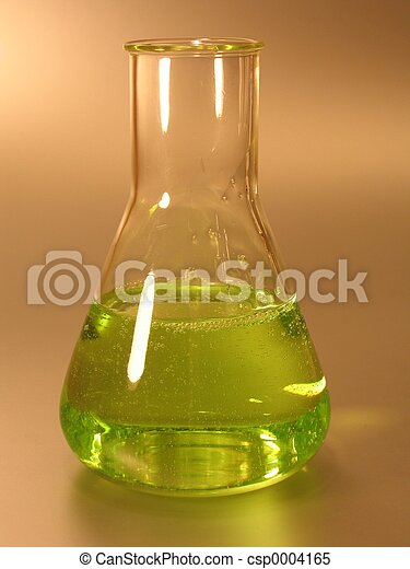 Green Conical Flask - csp0004165