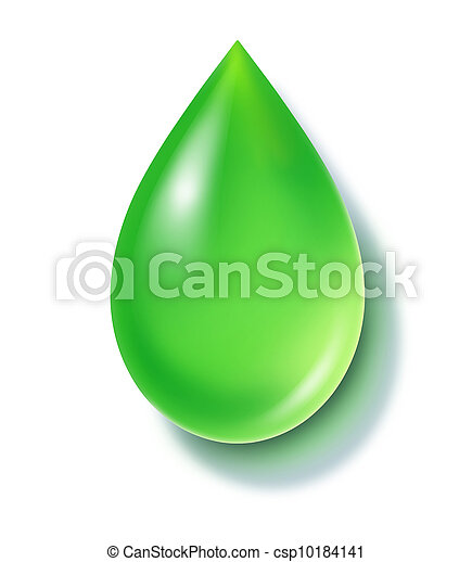 Green Drop - csp10184141