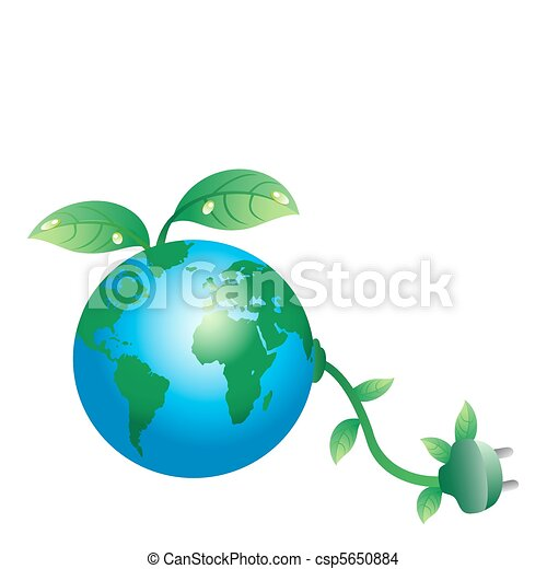 Green earth plug - csp5650884