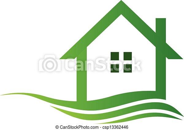 Green eco house - csp13362446