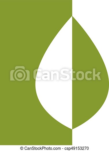 green eco icon - csp49153270