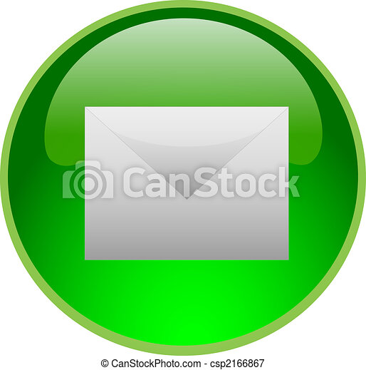 green email button - csp2166867
