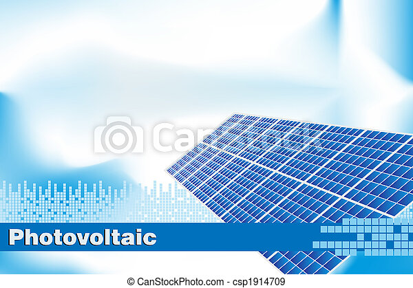 Green Energy - Brochure cover or Business card - csp1914709