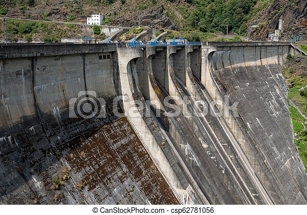 Green Energy, hydroelectric power plant - csp62781056