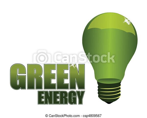 Green Energy - csp4809567