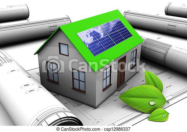 green energy - csp12986337