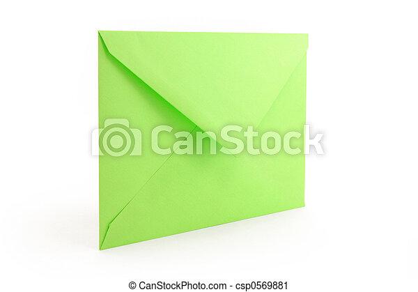 green envelope - csp0569881