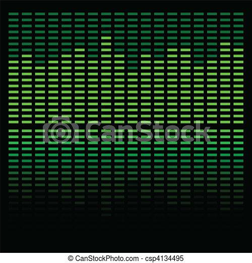 Green Equalizer - csp4134495