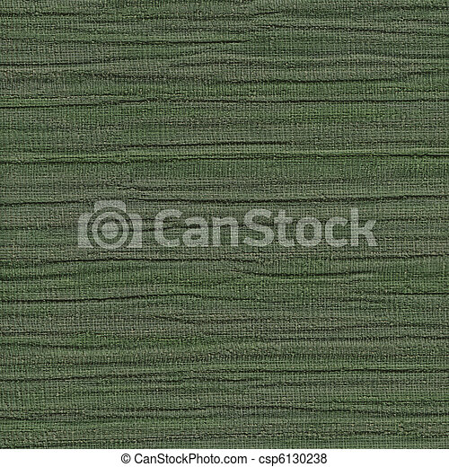 Green fabric texture detail. ( High. res. scan. )  - csp6130238