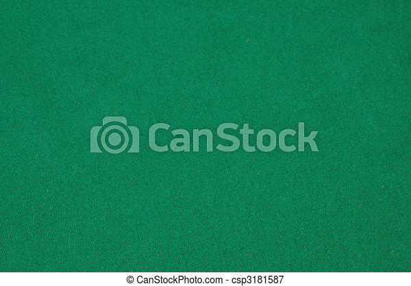 green felt background - csp3181587