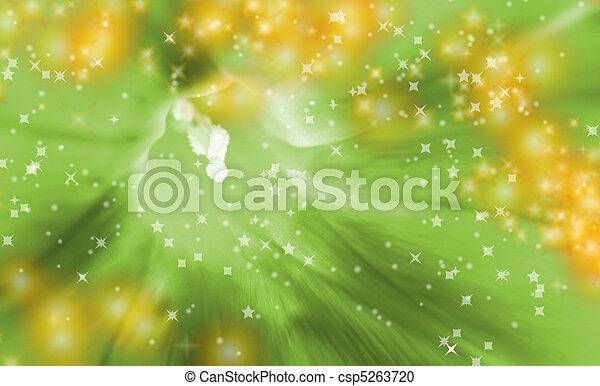 Green flower - csp5263720