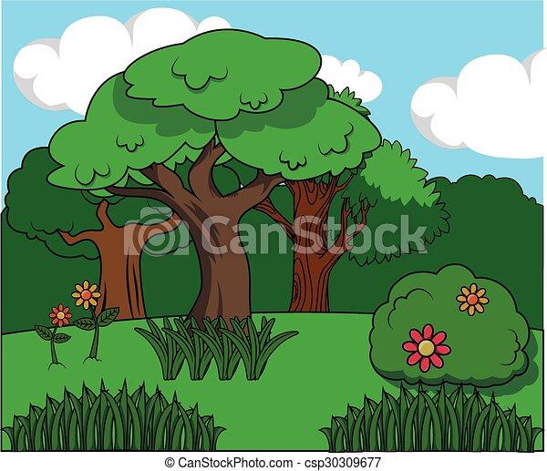 green forest - csp30309677