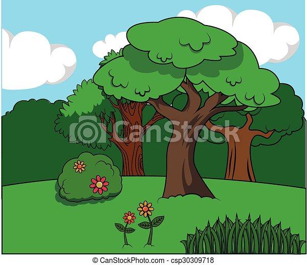 green forest - csp30309718