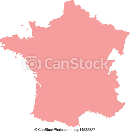 Map Of France Regions With Cities.Green France Map With Regions And Main Cities