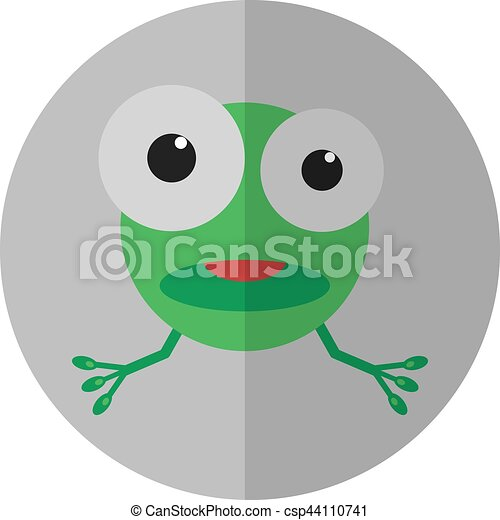 Green frog - csp44110741