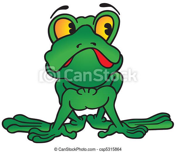 Green Frog - csp5315864