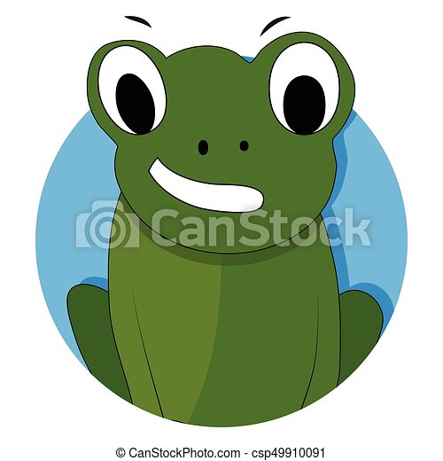 green frog icon app vector frog isolated toad cartoon eps rh canstockphoto com vectorfog by100 vectorfog h200sf