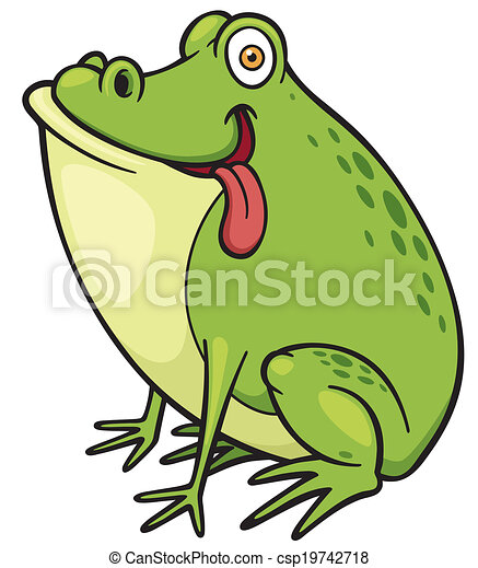 Green frog - csp19742718