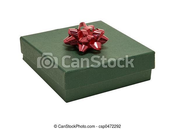 Green Giftbox - csp0472292