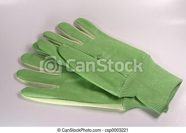 Green Gloves - csp0003221
