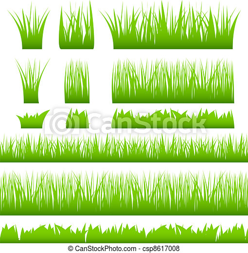 Green grass - csp8617008