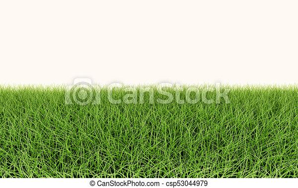 Green grass lawn template. Green grass lawn horizontaly seamless ...