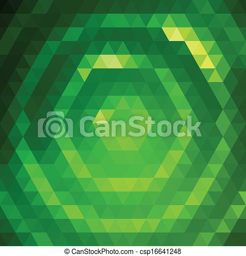 Green grid pattern - csp16641248