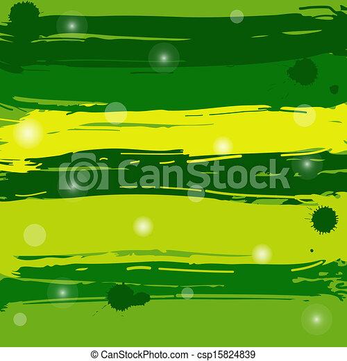 Green grunge background - csp15824839
