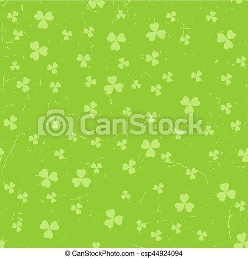 Green grunge clover backgrounds - csp44924094