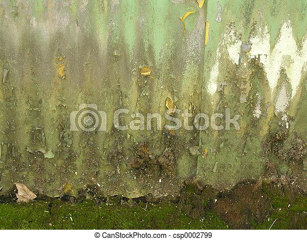 Green Grunge - csp0002799