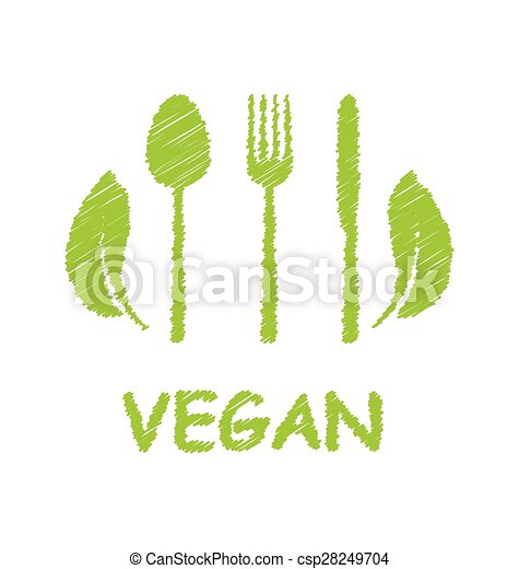 Green Healthy Food Icon - csp28249704